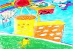 未来校园儿童画