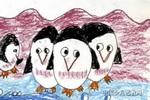 企鹅好儿童画