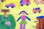 作讲卫生的好孩子儿童画作品欣赏