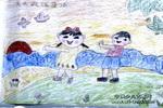 天天锻炼身体儿童画作品欣赏