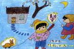 妈妈小时候儿童画
