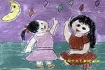 瞧!多美的星星儿童画