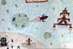 儿童画 蚂蚁/蚂蚁洞儿童画