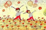 二重唱儿童画