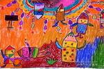小蜡笔王国儿童画作品欣赏