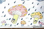 下雨子儿童画作品欣赏