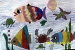 海的儿女儿童画