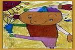 看我多酷儿童画