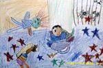 时光隧道儿童画