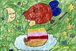 幻想儿童画