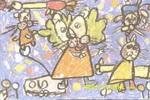 我的魔法术儿童画