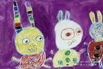 小兔乖乖儿童画5幅