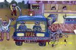 智能押款车儿童画