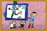 我的英雄奥特曼儿童画