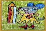 米奇老鼠儿童画