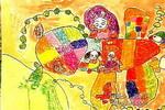 增添一片绿色儿童画作品欣赏
