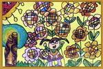 漂亮的向日葵儿童画