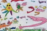 儿童画 作品 鱼儿/深海怪鱼儿童画作品欣