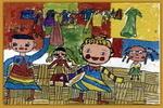 小小时装队儿童画