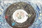 宇宙田径大赛儿童画作品欣赏