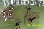 小足球赛儿童画