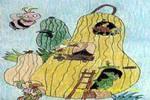 南瓜房儿童画