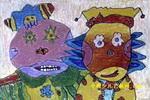 国王与皇后儿童画