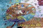 蝴蝶王国的国王儿童画