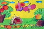 果子熟了儿童画11幅
