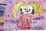 我爱吃甘蔗儿童画作品欣赏