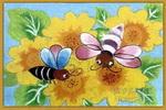 春意油画棒儿童画