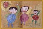 减肥运动儿童画