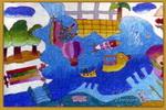 环球乐园儿童画