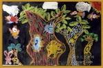 美丽的大树儿童画2幅