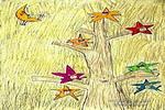 星星树儿童画作品欣赏