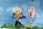 大吵儿童画