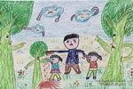 不许砍小树儿童画作品欣赏