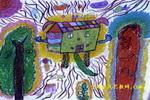 我的房子儿童画2幅