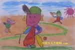 棒球运动员儿童画
