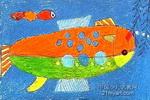 """""""鱼""""儿童画(三)8幅"""