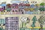 大火车儿童画