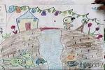 七色葫芦儿童画作品欣赏