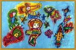 我是小小航空员儿童画