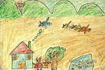 小兔的家儿童画15幅