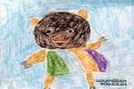 快乐的小猪儿童画作品欣赏