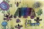 糕点王国儿童画