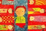 老师妈妈儿童画作品欣赏
