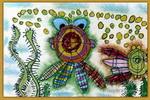 鱼缸总动员儿童画