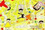 春之歌儿童画3幅