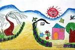 儿童画/描写春天儿童画作品欣